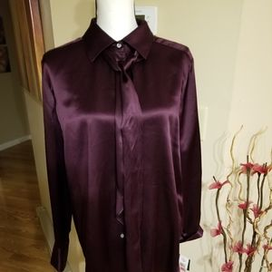 Gorgeous Ralph Lauren 100% silk Anglesey blouse